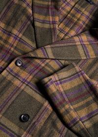 Horseblanket Oatmeal Plaid Sport Coat, thumbnail 3