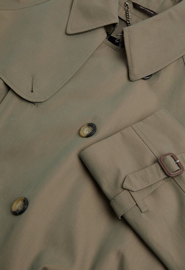 Double Breasted Classic Trench, image 2