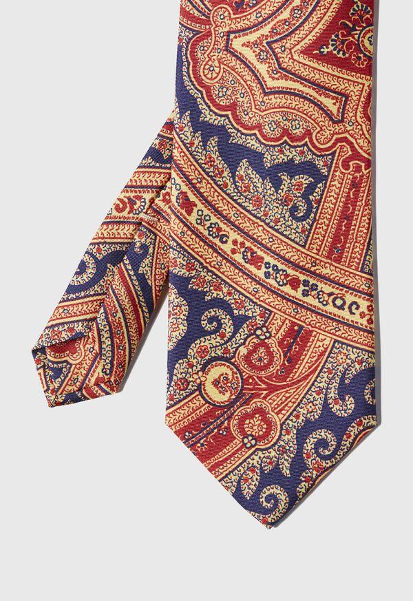 Silk Paisley Tie, image 1