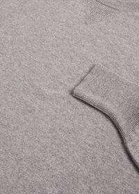 Single Ply Cashmere Sweatshirt, thumbnail 6