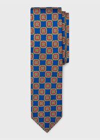Silk Large Medallion Tie, thumbnail 1