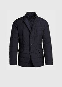 Quilted Button Front Blazer with Gilet, thumbnail 1