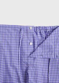 Purple Check Lounge Pant, thumbnail 2