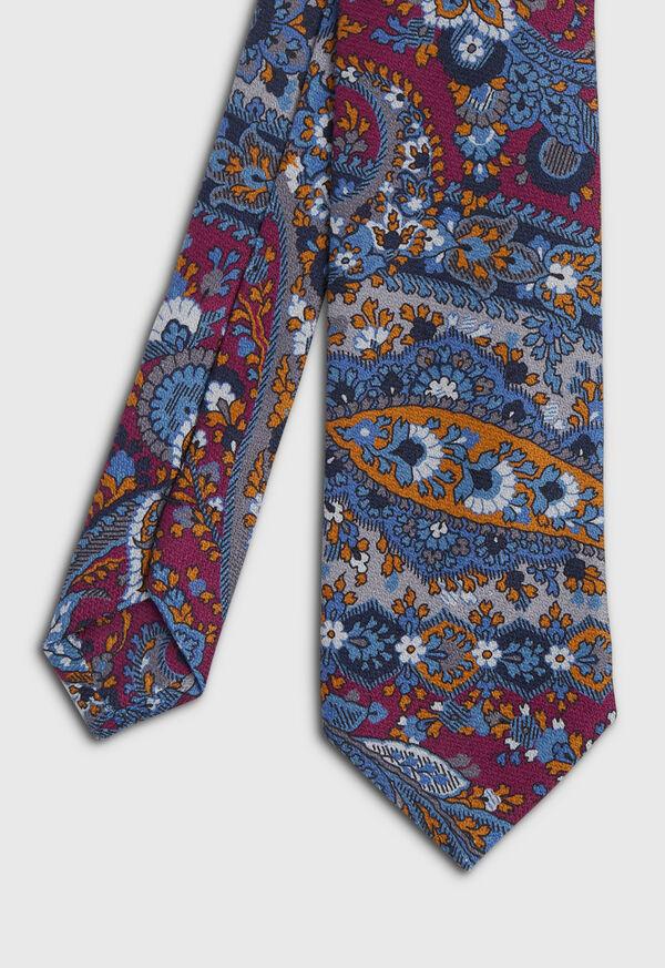 Paisley Printed Tie, image 1