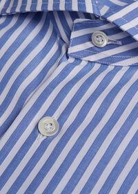 Stuart's Choice Cotton Striped Dress Shirt, thumbnail 2