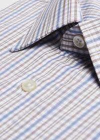 Cotton Check Dress Shirt, thumbnail 2