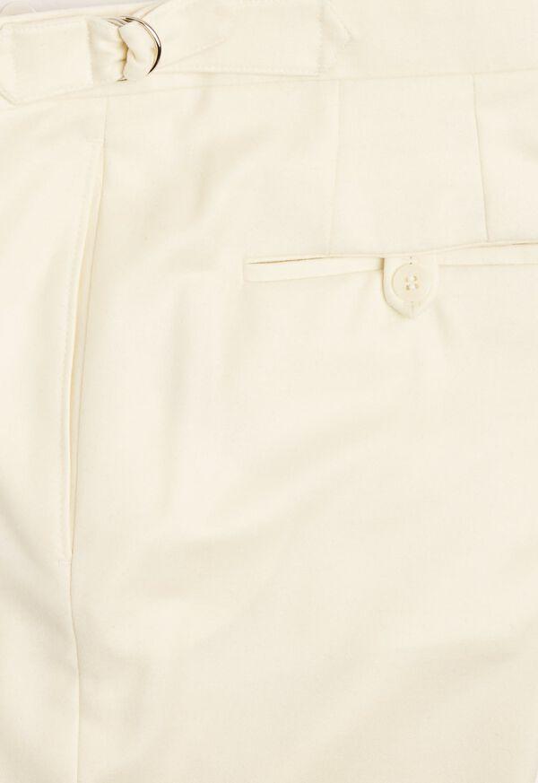Flannel Harley Plain Front Trouser, image 2