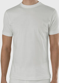 Pima Cotton Crewneck T-Shirt, thumbnail 3
