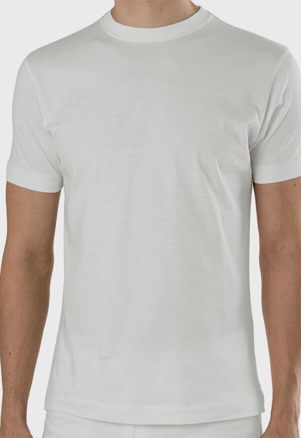 Pima Cotton Crewneck T-Shirt, image 3