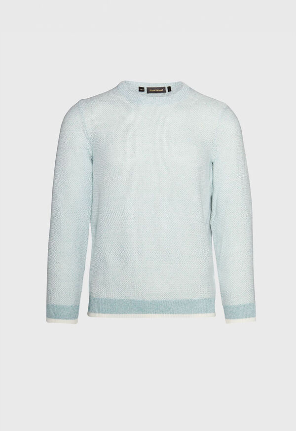 Marled Crew Neck Sweater, image 1