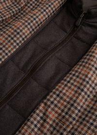 Plaid Travel Jacket with Suede Vest, thumbnail 4