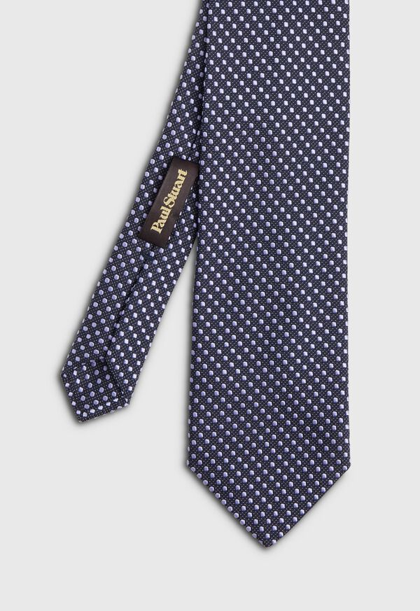 Textured Ground Jacquard Dot Tie, image 1
