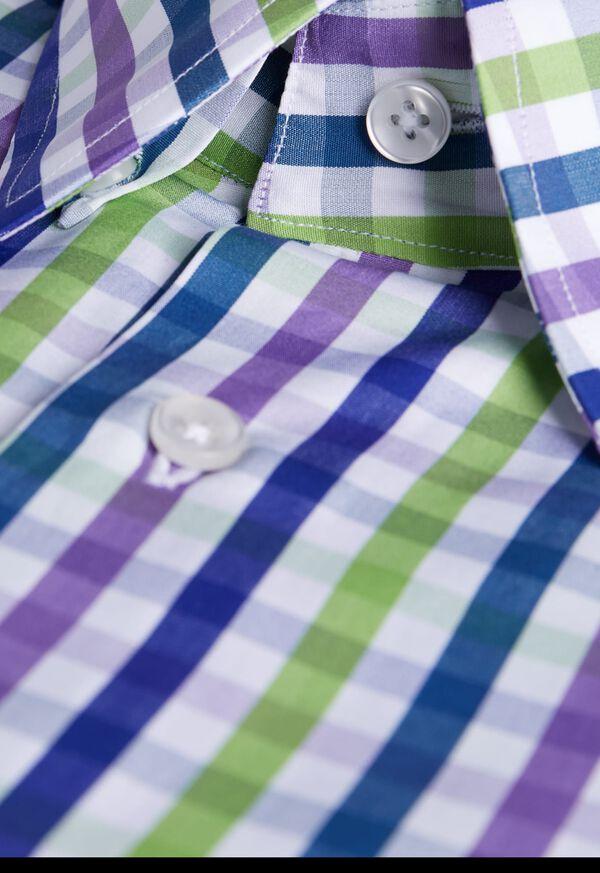 Gingham Sport Shirt, image 2