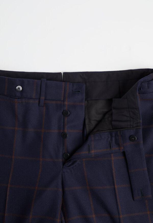 Navy Windowpane Suit, image 6