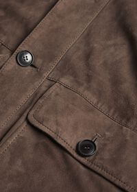 Suede Bomber Jacket, thumbnail 4