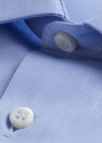 Blue Slim Fit Dress Shirt, thumbnail 2