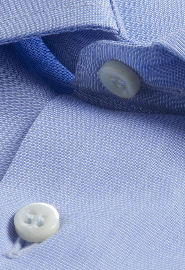Blue Slim Fit Dress Shirt, image 2