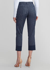 Denim Pant with Cuff Detail, thumbnail 2