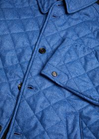 Wool Quilted Coat, thumbnail 5