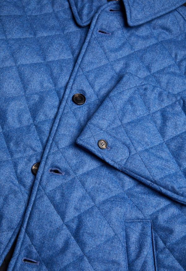 Wool Quilted Coat, image 5