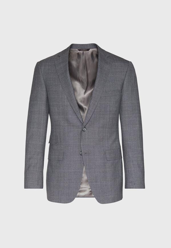 Grey Plaid Wool Suit, image 3