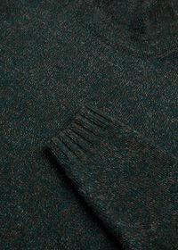 Melange Turtleneck Sweater, thumbnail 2