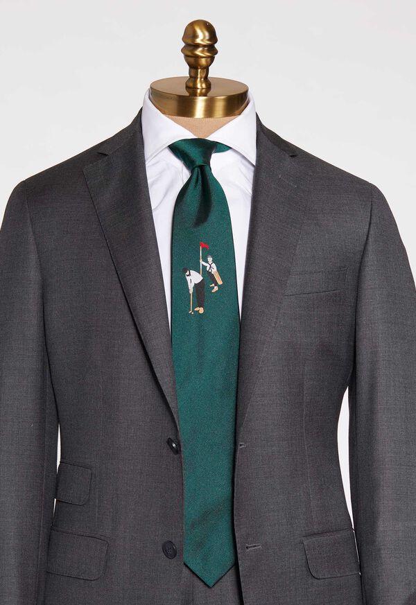 Golf Silk Tie, image 1