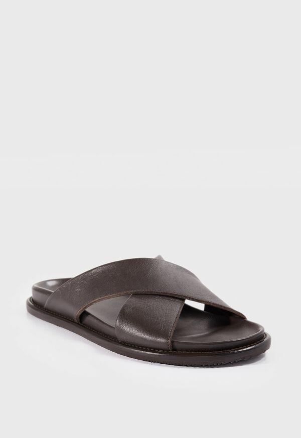 Punta Leather Slides, image 2