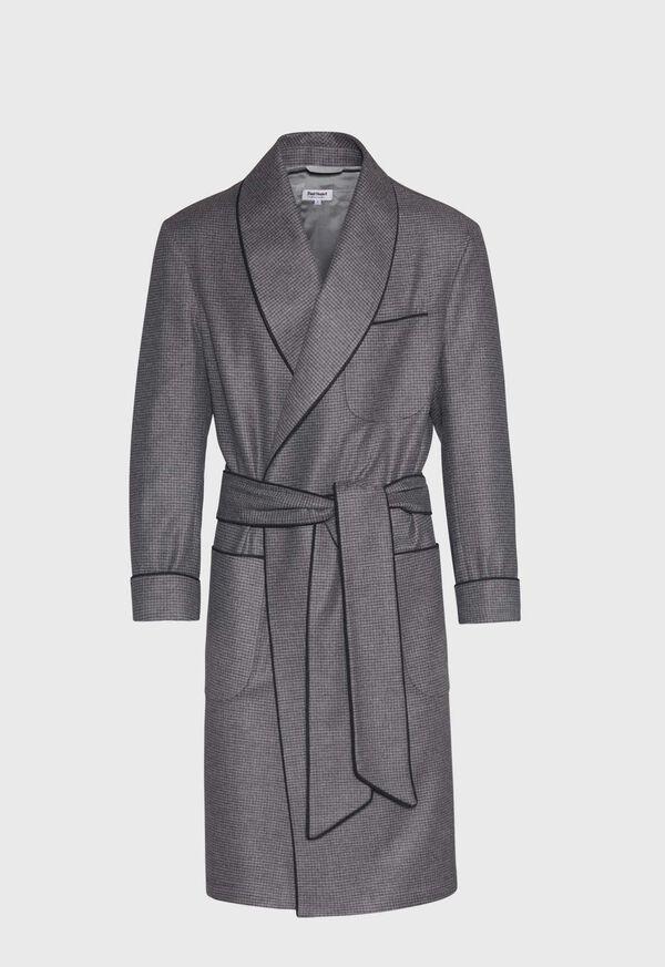 Small Check Robe, image 1