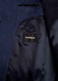 Mid Blue Cashmere Coat, thumbnail 3