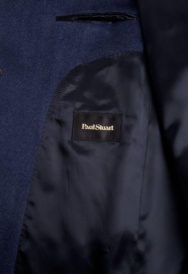 Mid Blue Cashmere Coat, image 3