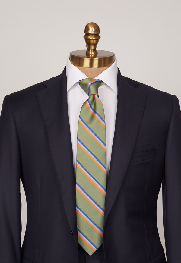 Mogador Thin Stripe Tie, image 2