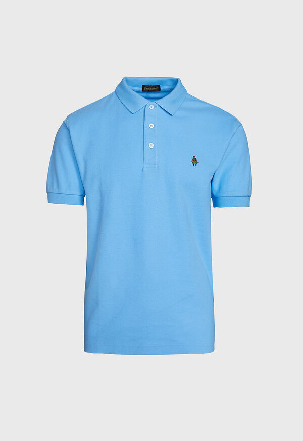 Cotton Pique Logo Polo