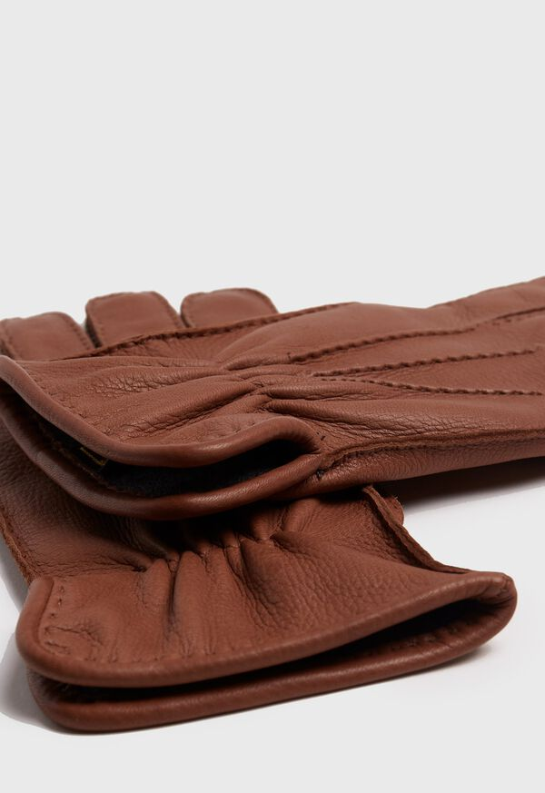 Deerskin Leather Glove with Cashmere Lining, image 2