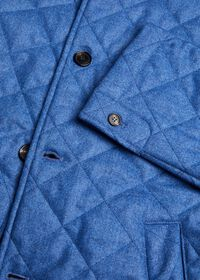 Wool Quilted Coat, thumbnail 2