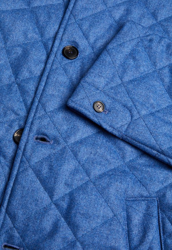 Wool Quilted Coat, image 2