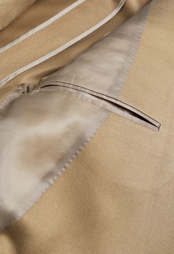 Paul Fit Solid Khaki Sport Jacket, image 3
