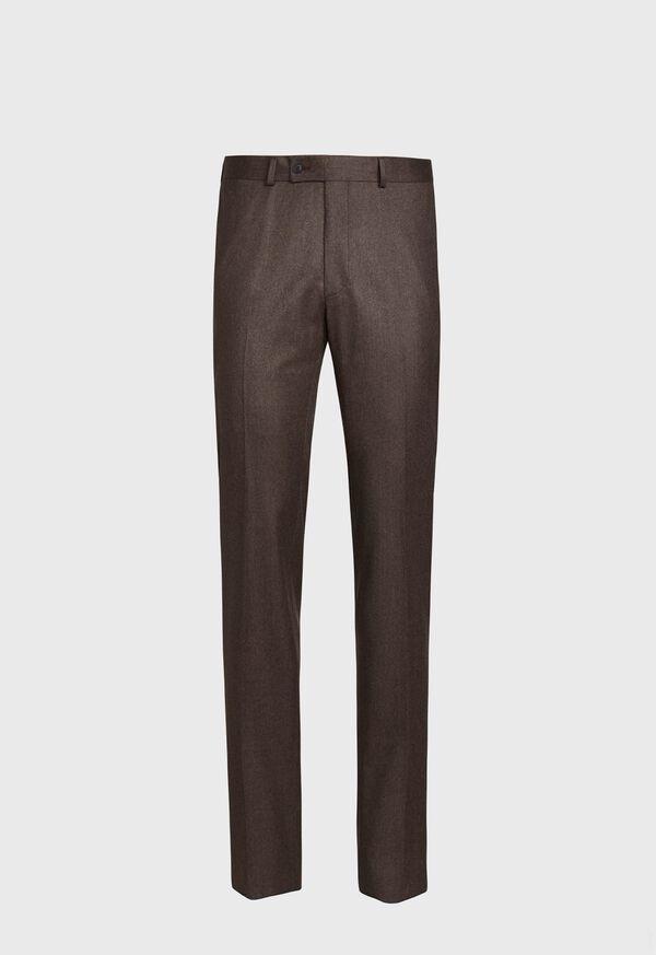 Super 120s Flannel Trouser, image 1