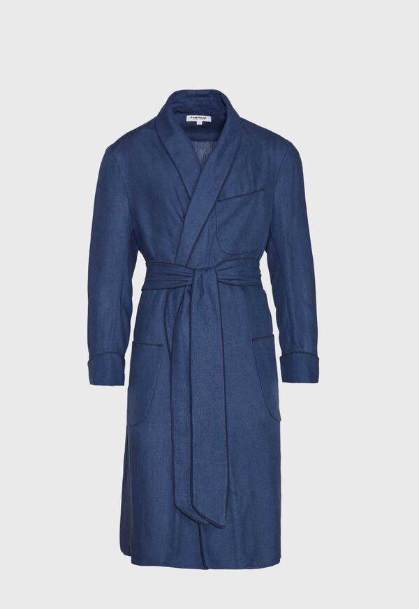 Solid Linen Robe, image 1
