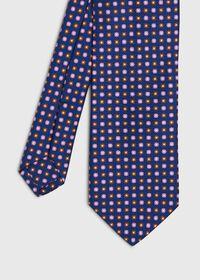 Small Floral Silk Tie, thumbnail 1