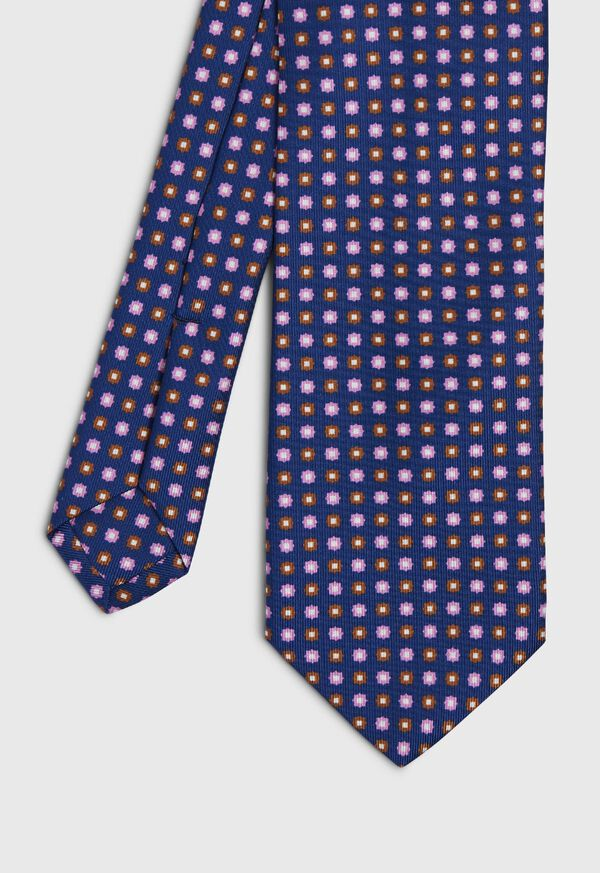 Small Floral Silk Tie, image 1