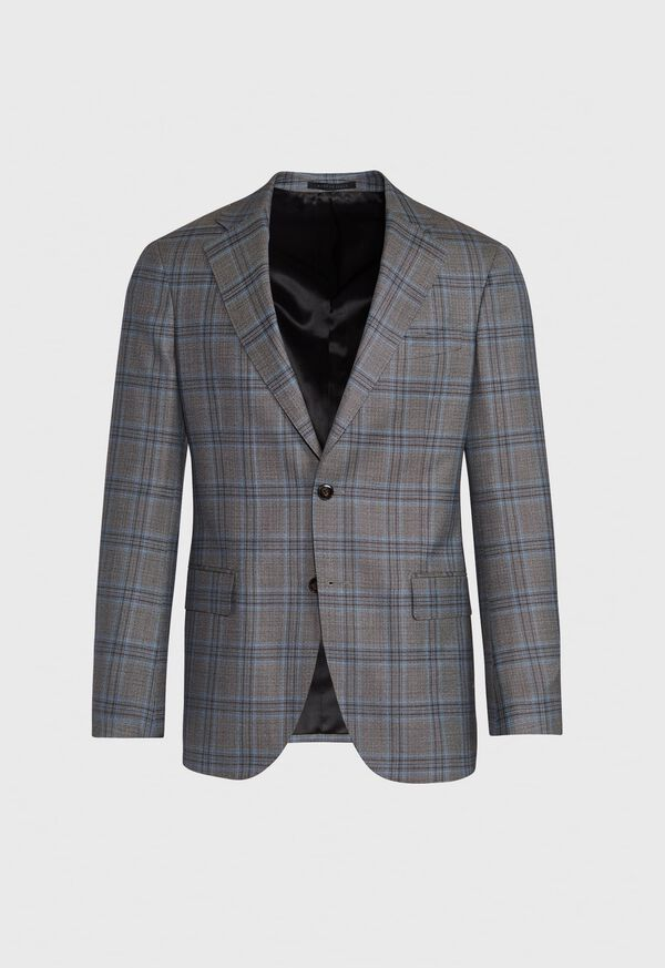 Plaid Sport Coat, image 1