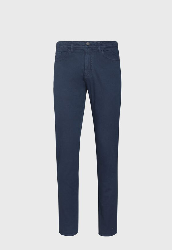 Pima Cotton All Year-Round Hybrid 5-Pocket Pant, image 1