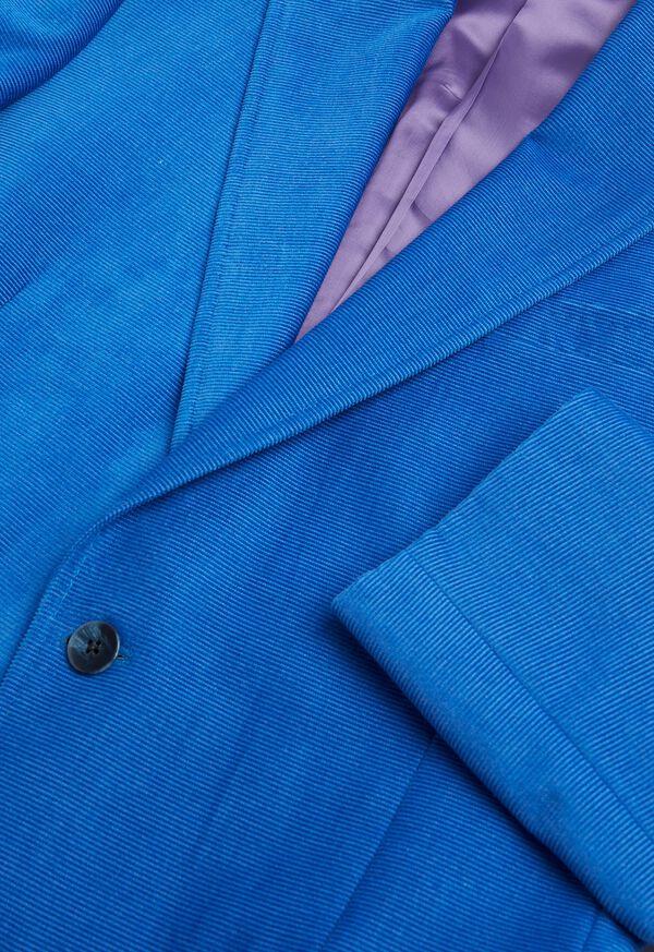 Blue Corduroy Sport Jacket, image 3