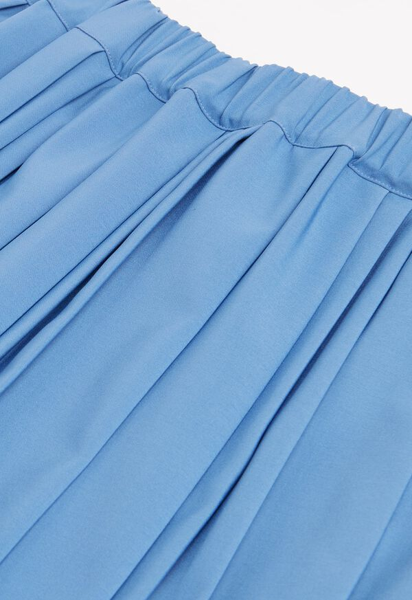 Wide Pleat Midi Skirt, image 2