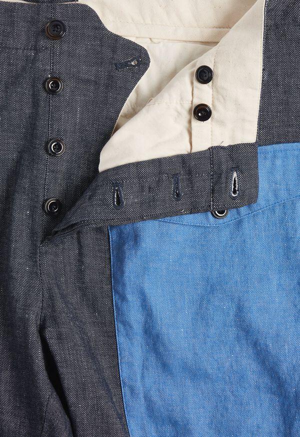 Indigo Contrast Envelope Pocket Pant, image 2