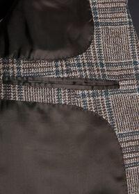 Grey and Brown Plaid Sport Jacket, thumbnail 3
