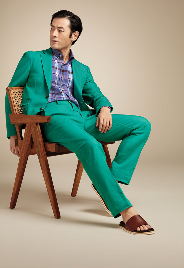 The Green Denim Look, image 1