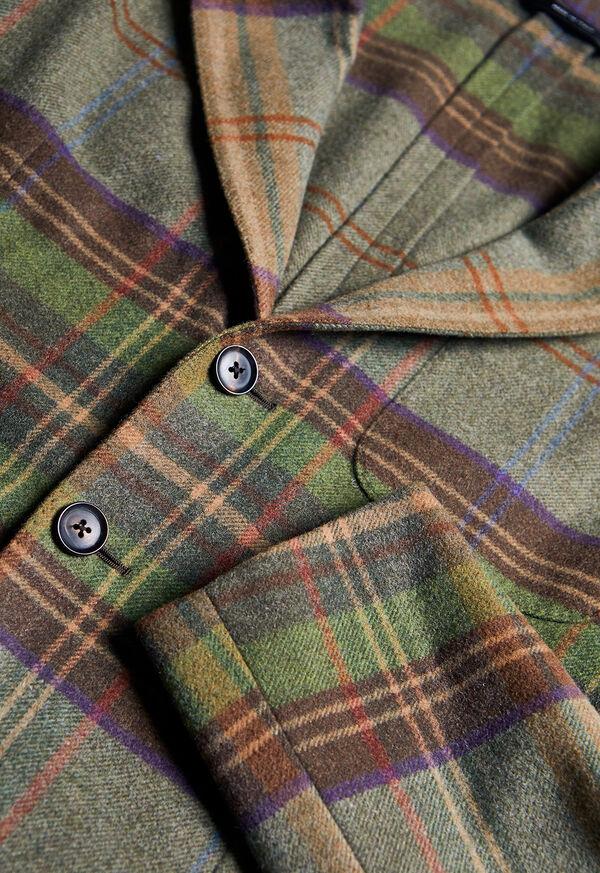 Horseblanket Green Plaid Sport Jacket, image 3