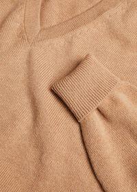 Cashmere V-Neck Sweater, thumbnail 3